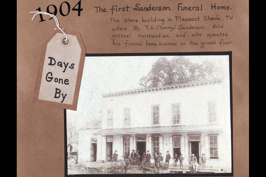 Funeral Home in 1904